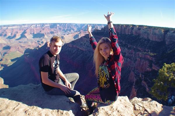Когда ты найдешь то, что полюбишь по-настоящему, ты сам удивишься, сколько всего ты сможешь. Grand Canyon, Аризона, США. 13.09.2013