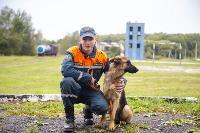 Испытания кинологов в Тульском спасательном центре, Фото: 25