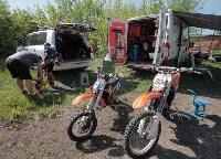 Юные мотоциклисты соревновались в мотокроссе в Новомосковске, Фото: 4