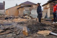В тульском селе сносят незаконные цыганские постройки, Фото: 19