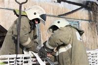 Пожар в жилом бараке, Щекино. 23 января 2014, Фото: 20