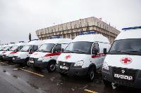 Алексей Дюмин передал региональному Центру медицины катастроф 39 новых автомобилей, Фото: 10
