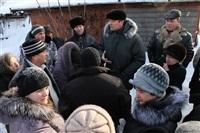Пожар в жилом бараке, Щекино. 23 января 2014, Фото: 22