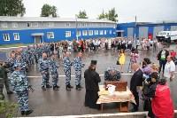Сотрудники ОМОН поклонились мощам святого великомученика Георгия Победоносца, Фото: 47