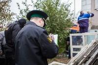 Группа быстрого реагирования УФССП помогла повторно за долги отключить тулячке газ, Фото: 21