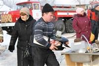 Пожар в жилом бараке, Щекино. 23 января 2014, Фото: 14