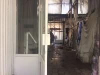 """На ул.9 Мая сгорел рынок """"Салют"""", Фото: 21"""
