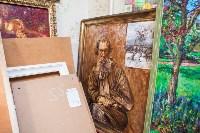 Александр Немцов рассказал об истории картины с Путиным, Богородицей и Николаем II, Фото: 7