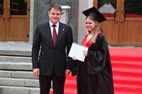 Владимир Груздев поздравил выпускников магистратуры ТулГУ, Фото: 56