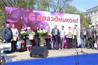 Тульская Федерация профсоюзов провела митинг и первомайское шествие. 1.05.2014, Фото: 103