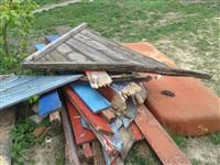 Разобранная песочница на Луначарского,63, Фото: 2