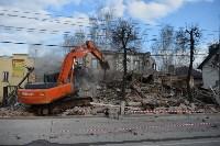 Снос аварийного дома на улице Октябрьской, Фото: 44