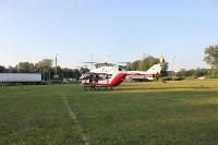 Пострадавшего в ДТП в Веневском районе на вертолете эвакуировали в столичную клинику, Фото: 1
