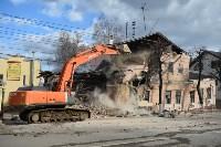Снос аварийного дома на улице Октябрьской, Фото: 14