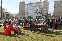 Высадка елей в сквере Глеба Успенского, 16.10.2015, Фото: 5
