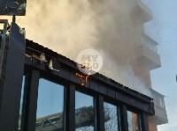 Пожар в пиццерии на Красноармейском, Фото: 16
