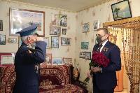 Алексей Дюмин поздравил ветеранов, Фото: 3
