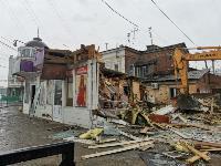 Снос незаконных павильонов в Заречье, Фото: 35