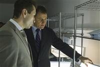 Губернатор посетил строящийся в Богородицке ФОК. 1 апреля 2014, Фото: 18
