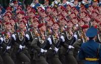 Тульская делегация побывала на генеральной репетиции парада Победы в Москве, Фото: 13