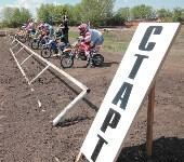 Юные мотоциклисты соревновались в мотокроссе в Новомосковске, Фото: 89