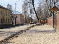 Ремонт дороги на ул. Демьянова. 13 апреля 2016 года, Фото: 3