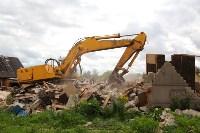 В Плеханово продолжается снос незаконных цыганских построек, Фото: 65