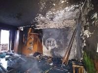 В пятиэтажке на ул. Маршала Жукова в Туле сгорела квартира, Фото: 11