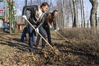 Субботник в Комсомольском парке с Владимиром Груздевым, 11.04.2014, Фото: 43