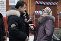 Владимир Груздев в Белевском районе. 17 декабря 2013, Фото: 10