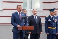 Путин в Суворовском училище, Фото: 64