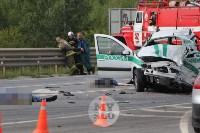 В ДТП под Тулой погибли три сотрудника УФСИН, Фото: 1