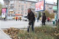 Тульские жилищники вышли на субботник, Фото: 15