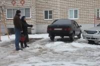 В Алексине прошёл рейд по несанкционированным парковкам, Фото: 2