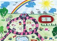 Даша Джураева (8 лет): «Мне бы очень хотелось, чтобы у моих друзей в деревне Большие Калмыки Киреевского района появился такой красивый детский городок!», Фото: 1