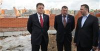 Владимир Груздев проинспектировал строительство жилья в Кимовске и в Донском, Фото: 5