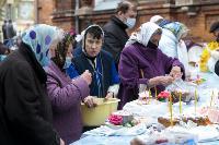 Туляки освящают пасхи и куличи, Фото: 62