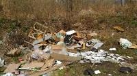 В Туле на берегу Тулицы обнаружен незаконный мусорный полигон, Фото: 4