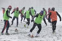 «Арсенал» готовится на снежном поле к игре против «Тосно», Фото: 8