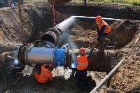 Как ведется монтаж водовода, питающего водой Пролетарский округ Тулы. Фото, Фото: 28
