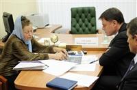 Жители области пожаловались Владимиру Груздеву на плохие дороги и проблемы ЖКХ, Фото: 27