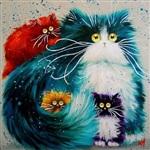 Рисованные котики, Фото: 6