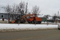 Сотрудники администрации Тулы проинспектировали уборку снега в городе, Фото: 4