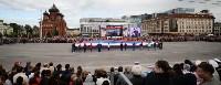 Развод караулов Президентского полка на площади Ленина. День России-2016, Фото: 31