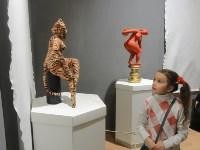 В Туле открылась выставка текстильной скульптуры, Фото: 6