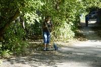 Субботник в Пролетарском округе Тулы, Фото: 64