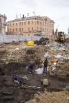 На Крестовоздвиженской площади Тулы обнаружено кладбище 18 века, Фото: 11