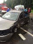 В Тульской области столкнулись две иномарки: есть пострадавшие, Фото: 7