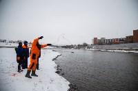 Тульское Управление МЧС принимает участие в тренировке  по готовности к паводку, Фото: 9