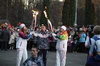 Третий этап эстафеты олимпийского огня: проспект Ленина, Фото: 46